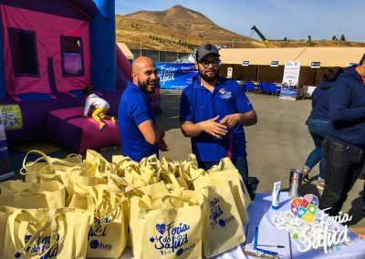 Feria de la Salud 2019 Grupo GAMI en Allan Recycling2