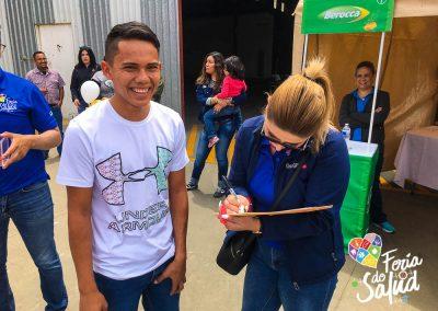 Feria de la Salud 2019 Grupo GAMI en Allan Recycling76