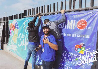 Feria de la Salud 2019 Grupo GAMI en SouthFi7