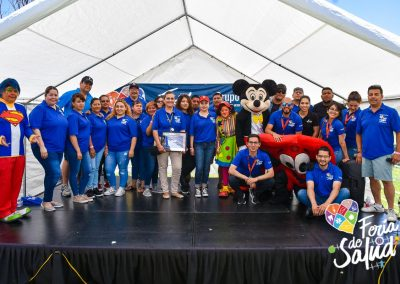 Feria de la Salud 2019 Grupo GAMI en Amphenol126