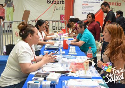 Feria de Salud 2019 Plaza Sendero por Grupo GAMI12