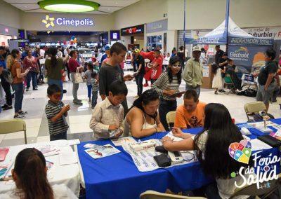 Feria de Salud 2019 Plaza Sendero por Grupo GAMI87